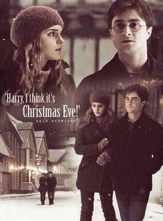 Harry and Hermione (Harry Potter and The Deathly Hallows Part 1)