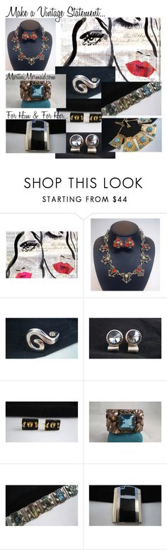 """""""Make A Vintage Statement ...."""" by martinimermaid on Polyvore featuring Oliver Gal Artist Co. and vintage"""