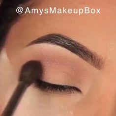 Glamouröse Rose Gold Augen Make-up - Makeup Hack - makeup Gold Eye Makeup, Makeup Eye Looks, Eye Makeup Steps, Eye Makeup Art, Smokey Eye Makeup, Eyebrow Makeup, Eyeshadow Makeup, Makeup Eyes, Eyebrow Tinting