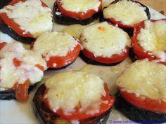 Gratinierte Auberginen mit Tomaten