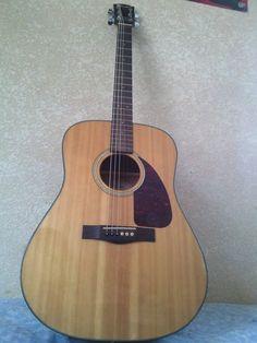 My fender acoustic guitar.