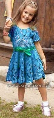 Vestido de punto para niños