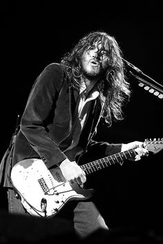 John Frusciante. I don't use the heart symbol lightly, but this man deserves it <3