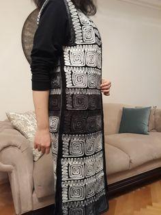 Crochet Cardigan, Knit Or Crochet, Maxi Cardigan, Moda Emo, Crochet Projects, Knitwear, Knitting, Womens Fashion, Pattern