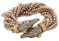 KJL браслет с грейхаундами личная коллекция-Iris-Apfel фото-onekingslane.com