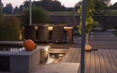 osvětelní posezení v zahradě / lighting the garden seating area