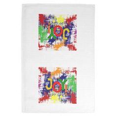 "Joy to the World! Kitchen Towel 16"" x 24"""
