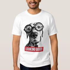 Avanti Press - Funny Dalmatian Dog Wears Thick Glasses. Producto disponible en tienda Zazzle. Vestuario, moda. Product available in Zazzle store. Fashion wardrobe. Regalos, Gifts. #camiseta #tshirt