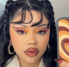 Indie Makeup, Edgy Makeup, Makeup Eye Looks, Eye Makeup Art, Cute Makeup, Pretty Makeup, Skin Makeup, Beauty Makeup, Eye Makeup Designs