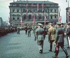 nazi germany color photos | They Thought They Were Free But Then It Was Too Late ~ The Germans ...