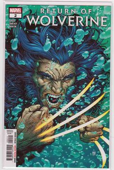 Return Of Wolverine (of Written by Charles Soule Art by Declan Shalvey Cover by Steve McNiven Logan is alive again lets see if he can stay that way! Marvel Wolverine, Wolverine Character, Marvel Comics, Hq Marvel, Logan Wolverine, Marvel Comic Books, Marvel Characters, Comic Books Art, Comic Art