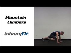 Bodyweight Exercise: Mountain Climbers - JohnnyFit