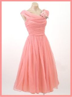 vintage prom dresses are often better because the modesty alone! but so many more reasons too:D #vintage