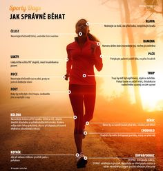 Jak správně běhat Healthy Life, Fitness Motivation, Health Fitness, Muscle, Exercise, Running, Workout, How To Plan, Tips