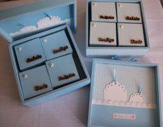 Menina Lilás: Caixas de recordações menino