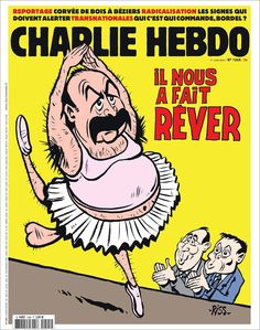 Charlie Hebdo - # 1245 - 1er Juin 2016 - Couverture : Riss