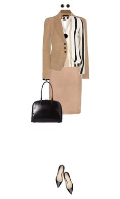 """""""Office Wear"""" by ittie-kittie ❤ liked on Polyvore featuring Tom Ford, Dorothy Perkins, Sportmax, Lodis, Marc by Marc Jacobs, Irene Neuwirth, office, officewear, officestyle and officelook"""