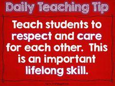 - Daily teaching tip