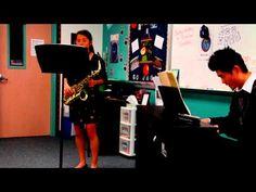 Grace Chen - Creston Saxophone Concerto - 2013 LISD Solo Contest - 2.23.13 - YouTube