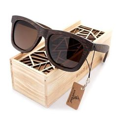 087f5870598 Looking for a high-end pair of bamboo wood sunglasses  The Stunning design  of the Polarized   Mirrored Natural Bamboo Wood Sunglass