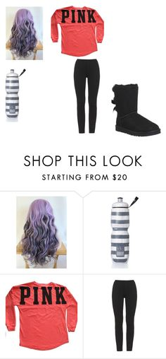 """""""Cute School Outfit"""" by arden-fincher on Polyvore featuring Victoria's Secret, adidas Originals, UGG Australia, women's clothing, women's fashion, women, female, woman, misses and juniors"""