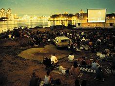 Outdoor Cinema at Socrates Sculpture Park