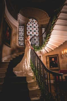 An Elegant Wedding at Ripley Castle, Yorkshire. Image by JPR Shah Photography. Read more: http://bridesupnorth.com/2016/12/22/from-russia-with-love-an-elegant-wedding-at-ripley-castle-olga-chris/ #wedding
