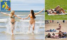 Britain set to be hotter than Portugal this weekend Uk Weather, St James' Park, Devon And Cornwall, Enjoy The Sunshine, The Eighth Day, Days Of The Year, London Bridge, Blackpool, Thunderstorms