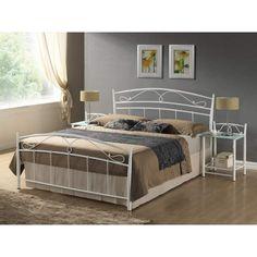 Siena 140cm Ágykeret Fehér Színben Időtálló bútordarabra vágysz hálószobádba? A Siena ágykeret tökéletes választás! Kiváló minőségű alapanyagainak köszönhetően meglehetősen tartós darab, garantáltan hosszú ideig élvezheted társaságát. Rendeld meg, és legyen az alvás kiemelkedő élmény! Ha a romantikus stílus híve vagy, szeretni fogod! Kényelmes és elegáns ágykeret, melyet biztosan szívesen látnál a hálószobádban.