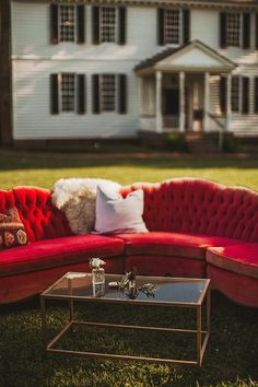 wedding lounges - photo by Nessa K. Photography http://ruffledblog.com/bohemian-wedding-under-a-circus-tent