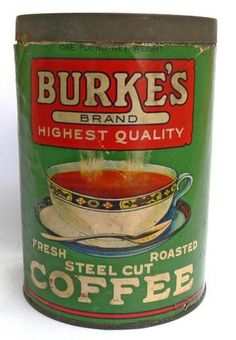 Burke's Brand Highest Quality Steel Cut Coffee