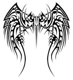 These kind of wings on a dragon would be insanely beautiful: Celtic Tattoos | XploreOut