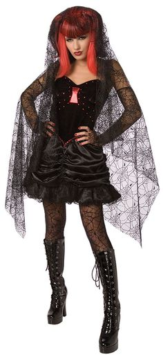 Black Widow Costume  £29.99 : Direct 2 U Fancy Dress Superstore. Fancy Dress, Party Themes & Accessories For The Whole Family. http://direct2ufancydress.com/black-widow-superior-p-6176.html
