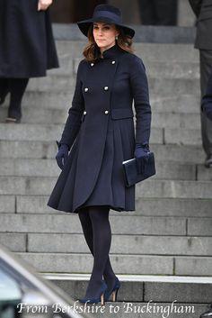 Sneak Peek: Kate in Carolina Herrera at St. Paul's Cathedral