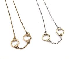 Handcuff Necklace - Banner Items Uncovet
