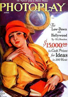 Lois Wilson, Photoplay Magazine, April 1927 | Flickr - Photo Sharing!