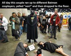 Batman cosplayer trollers - Imgur