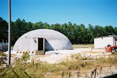 Monolithic dome homes. Mold, Termite, Tornado and Hurricane 5 proof.  This one built as a shelter survived Katrina.