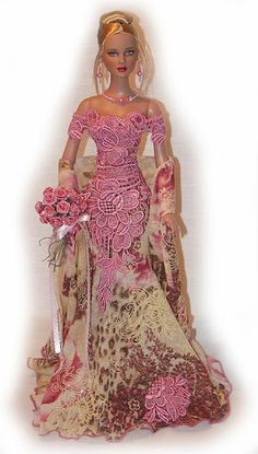 Pretty dress Barbie