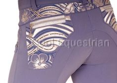 The Animo Nuevo are the Limited Edition breeches from Animo this season. They are absolutely stunning, they are available in a beautiful lavender colour, with beautifulembroidery in silver andand a touch of animo bluetogether with few swarowski crystals, and detailing is amazing, you will not be disappointed!!    The Biaritz polo is a must with the lavender breeches!