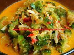 Resep Gulai Pare - Resep Makanan Terlengkap