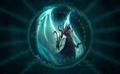 Diablo 3 Wallpaper: Year Two Anniversary Edition. Special Malthael themed version, with a Blizzard endorsement. Second Anniversary, Mustang, Deviantart, Wallpaper, Death, Games, 2nd Birthday, Two Year Anniversary, Mustangs
