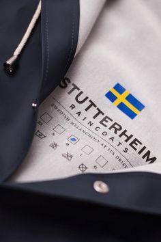 THE STOCKHOLM – A NEW DESIGN FROM STUTTERHEIM RAINCOATS