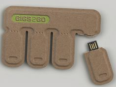 Tear Off Flash Drives Enable Emergency Storing Of Files
