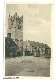 ST JUST CHURCH | St Just in Penwith, Cornwall     ✫ღ⊰n