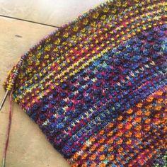 Nightshift. | Hillsborough Yarn Shop Granny Square Blanket, Bind Off, Yarn Shop, Show And Tell, Slip Stitch, Color Change, Stitch Patterns, Knitting, Crochet