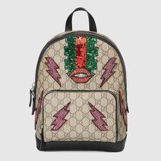Beaded Sky GG Supreme backpack