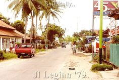 Jalan Legian 1979