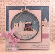WT510 Snowy Ornament by cathymac - Cards and Paper Crafts at Splitcoaststampers