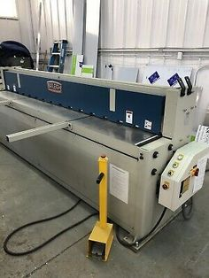 Ad Ebay Url Baleigh Sh 12014 10 Foot Sheet Metal Hydraulic Shear With Images Hydraulic Shear Sheet Metal Shear Industrial Hvac